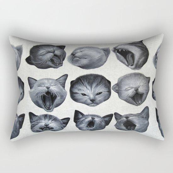 Sleepy Monday Rectangular Pillow