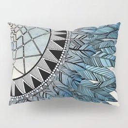 blue feather dreamcatcher Pillow Sham