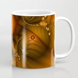 Warmth, abstract Fractal Art Coffee Mug