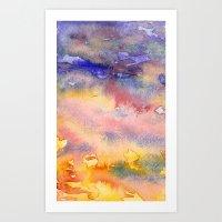 greg guillemin Art Prints featuring Greg & Terry by Steven k Schmidt
