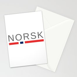 Norsk Norway Stationery Cards
