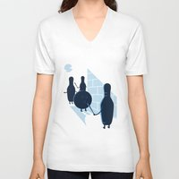 vendetta V-neck T-shirts featuring Vendetta by grodas