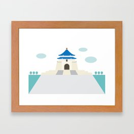 Taiwan Icon - I Framed Art Print