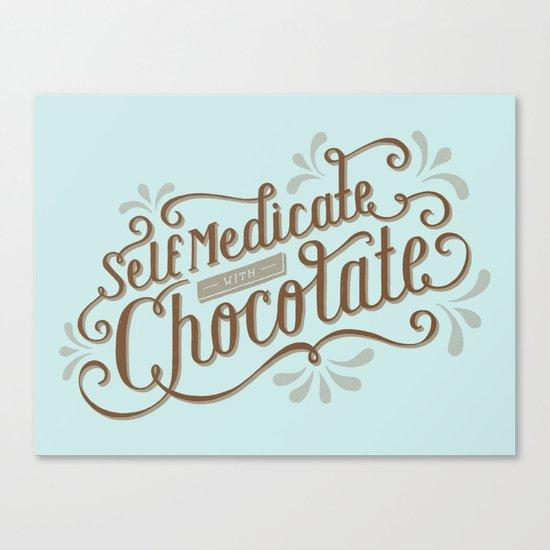 Chocolate RX Canvas Print