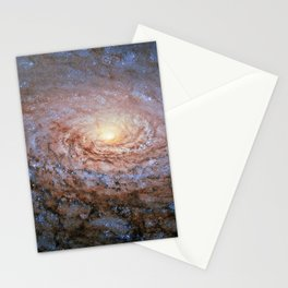 Galaxy Messier 63 Deep Field Telescopic Photograph Stationery Cards