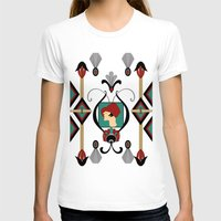 art deco T-shirts featuring Art Deco Lady by naturessol