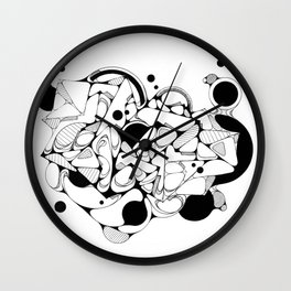 FREEHAND 002 Wall Clock