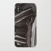 motorcycle iPhone & iPod Cases featuring Motorcycle by Jaci Wandell