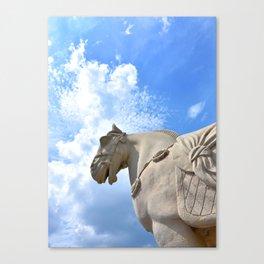 Ancient Warhorse Canvas Print