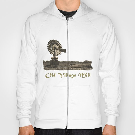 The old village mill Hoody