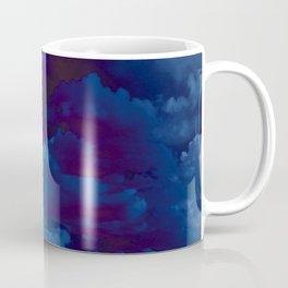 Clouds in a Stormy Blue Midnight Sky Coffee Mug