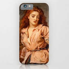 """John Everett Millais """"The Martyr of the Solway"""" iPhone Case"""
