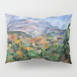 "Paul Cezanne ""Mont Sainte-Victoire"", c.1890 Pillow Sham"