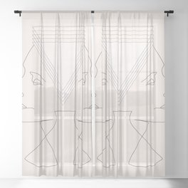 GEMINI Sheer Curtain