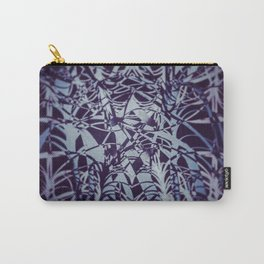 Blue Sparks Carry-All Pouch