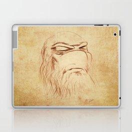 Leonardo's Self Portrait Laptop & iPad Skin