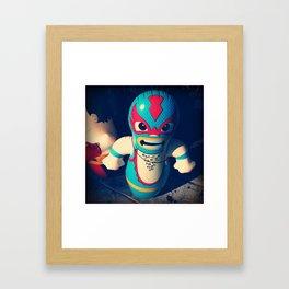 Luchador! Framed Art Print