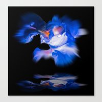 lily Canvas Prints featuring Lily  by Walter Zettl