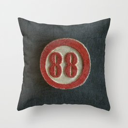 Eighty Eight Throw Pillow