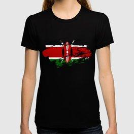 Kenya Flag Tee T-shirt