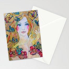 Butterfly Princess Stationery Cards