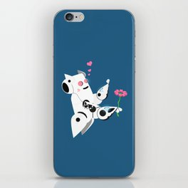 The Adorable Robotic Proposal  iPhone Skin