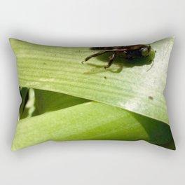 Carpenter bee Rectangular Pillow