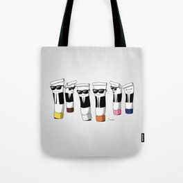 Reservoir Colours (no blood and dark colored t-shirts) Tote Bag