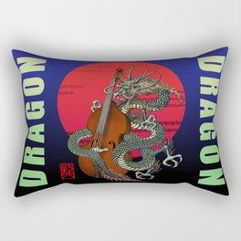 Dragon Contrabass Rectangular Pillow