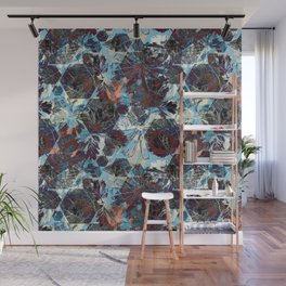 Flower Kaleidoscope Wall Mural