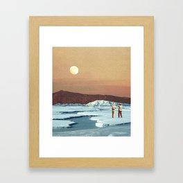 Environmental Differences Framed Art Print