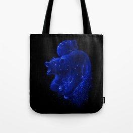 Blue Ursa Tote Bag