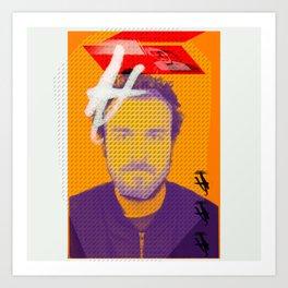 Pop Art Portrait Art Print