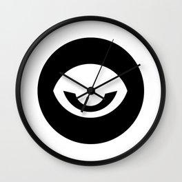 Evil Eye Ideology Wall Clock
