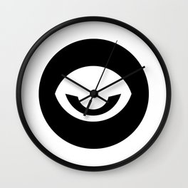 Evil Eye Ideology Wall Clock