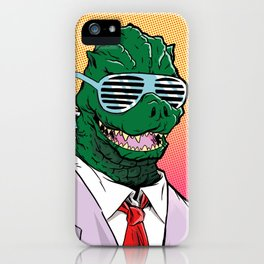 Kaiju Kool Kids_Big G iPhone Case