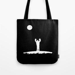Full Black Death Tote Bag