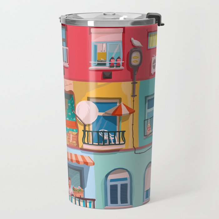 BP frontage Travel Mug