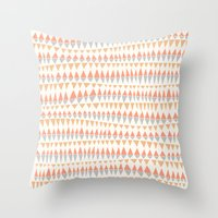 circus Throw Pillows featuring CIRCUS by Kelli Murray