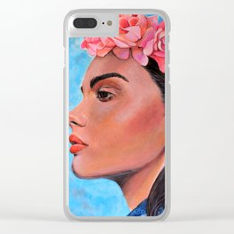 Roses for the Queen Clear iPhone Case