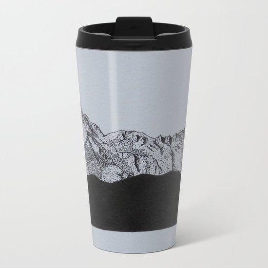 Sierra Nevada Range Metal Travel Mug