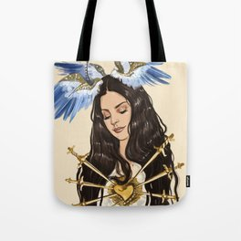 """The seven sorrows of Lana"" Tote Bag"