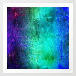 Abstract Coding Art Print