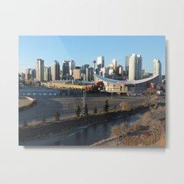 Downtown Calgary Metal Print