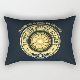 Pacific Rim Defense Academy Rectangular Pillow