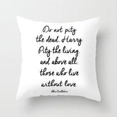 HARRY POTTER // ALBUS DUMBLEDORE II Throw Pillow