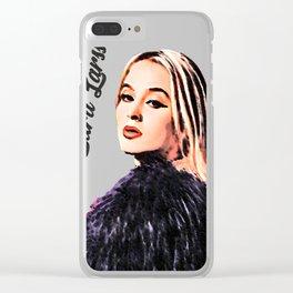 zara larsson desain 002 Clear iPhone Case