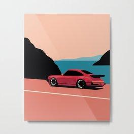 930 Minimal Metal Print
