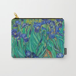 Vincent Van Gogh's Irises 1889 Carry-All Pouch
