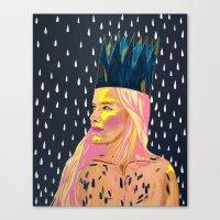 princess bubblegum Canvas Prints featuring Bubblegum Princess by AprilNicole